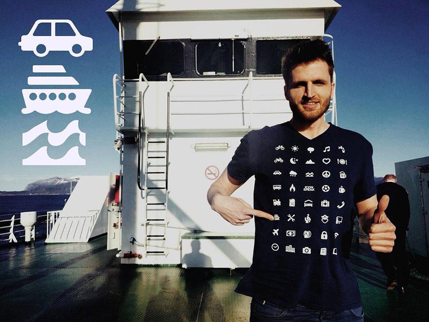 Tricoul pentru turişti poate fi extrem de util într-o ţară străină (Icon Speak)