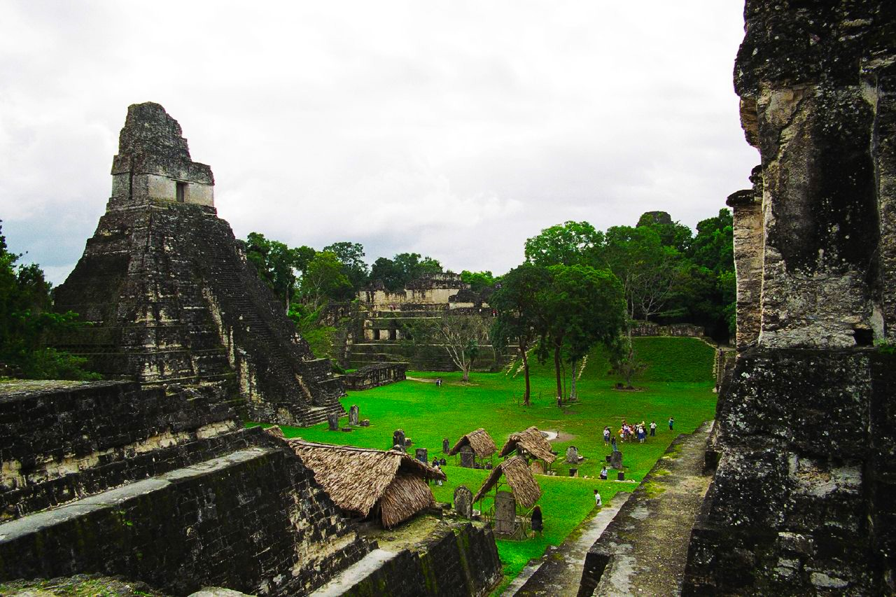 Templu din Tikal, Guatemala FOTO: Bruno Girin/Wikimedia Commons