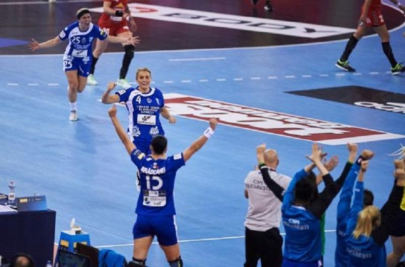 CSM București s-a calificat în finala Ligii Campionilor (EHF / Yorck Dertinger)