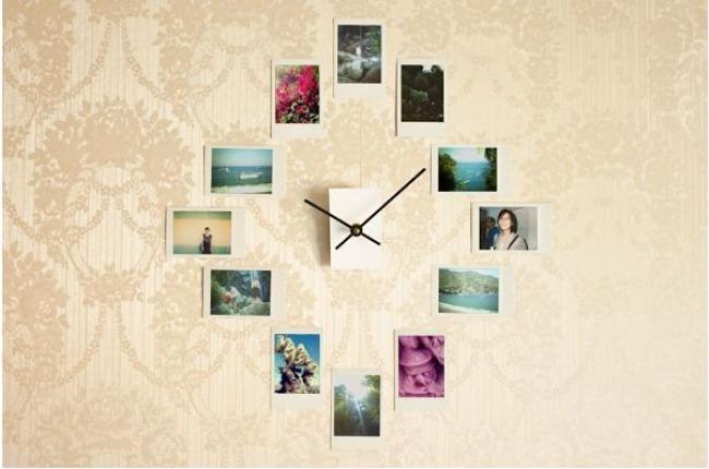 idei pentru decorarea pereților ceas