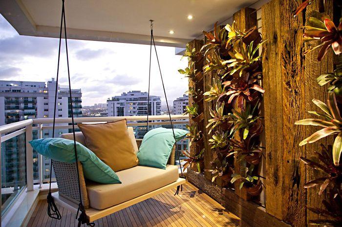 idei de amenajare a balconului
