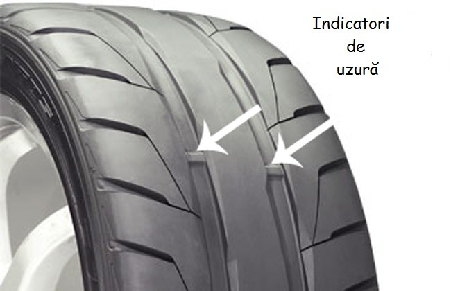 Indicatorii de uzură de pe unele anvelope te ajută să îți dai seama rapid dacă cauciucurile trebuie schimbate