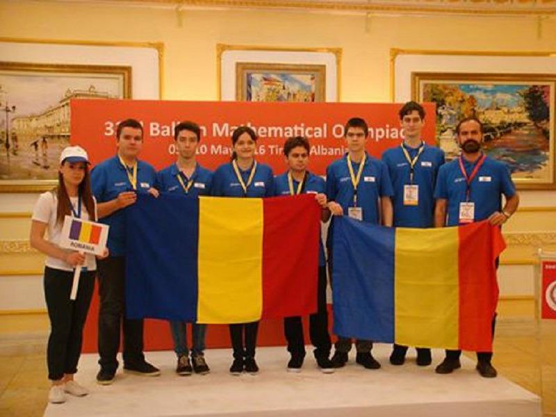 Toți elevii români au câștigat câte o medalie la Olimpiada Balcanică de la Tirana (ssmr.ro)