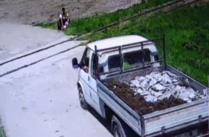 sângeorgiu de mureș camion moloz