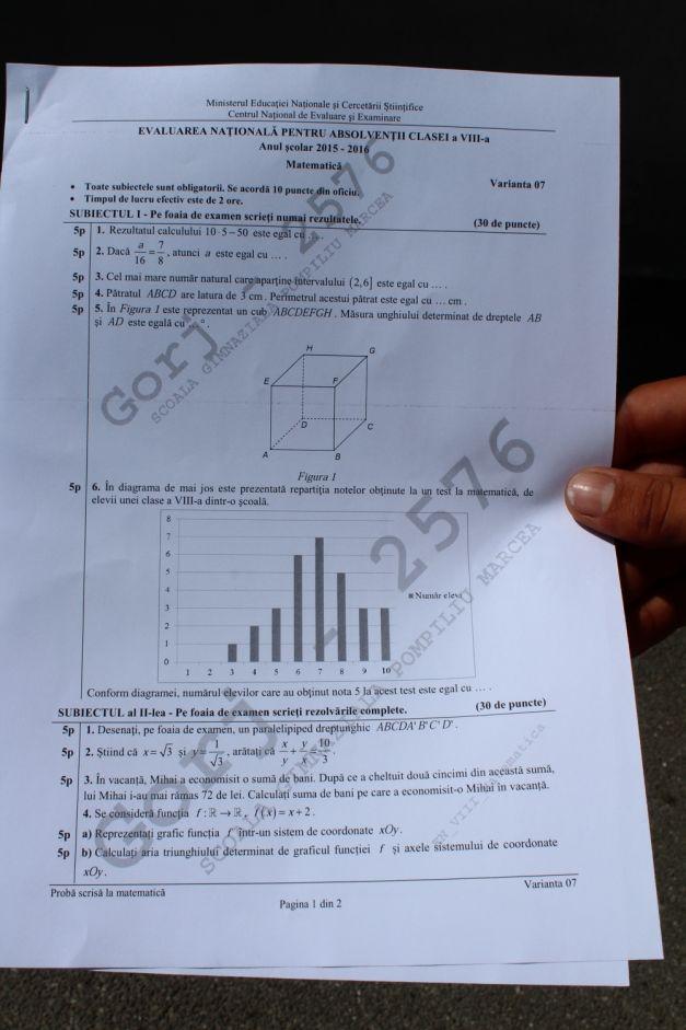 01 subiecte matematica