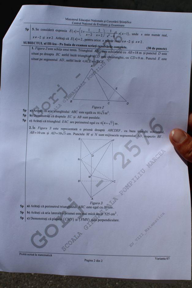 02 subiecte matematica