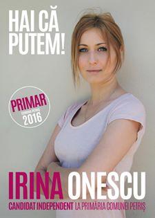 Irina Onescu FOTO: Facebook/Irina Onescu