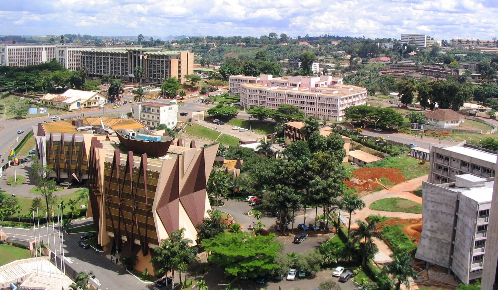 Yaounde, capitala Camerunului (Wikimedia Commons)