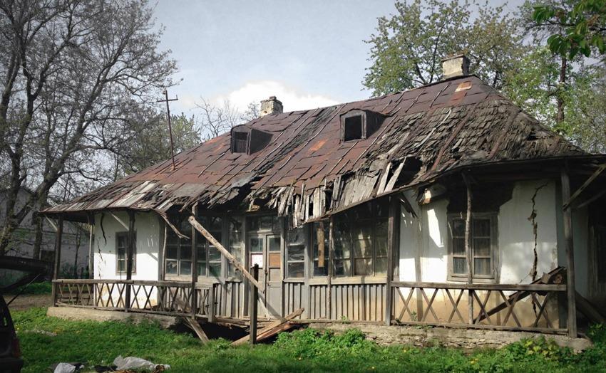 Așa arăta Casa Enescu înainte de începerea lucrărilor de reabilitare (observatorulurban.ro)