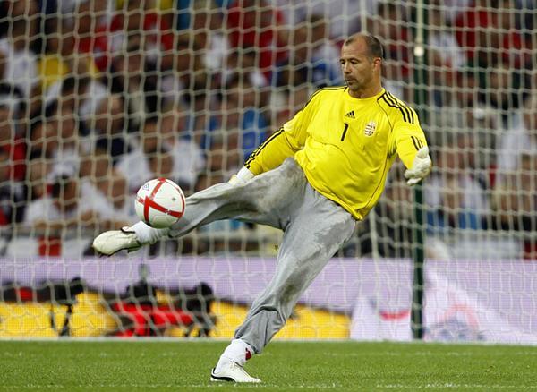 Gabor Kiraly este cel mai bătrân jucător din istoria Europenelor (Wikimedia Commons)