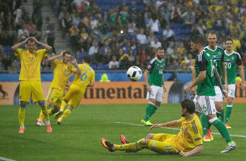 Ucraina a încheiat Euro 2016 fără vreun punct și fără să marcheze vreun gol (Facebook - Federația Ucraineană de Fotbal)