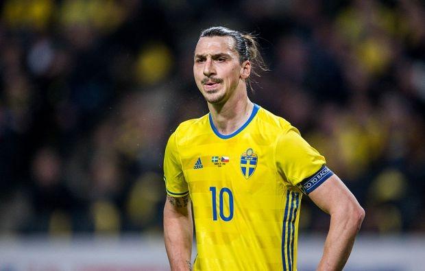 Zlatan Ibrahimovici nu a strălucit în Franța, așa cum a făcut-o în anii petrecuți la Paris Saint-Germain (Facebook - Federația Suedeză de Fotbal)