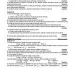 BAC 2016. Subiecte Chimie anorganică. Resurse naturale și protecția mediului