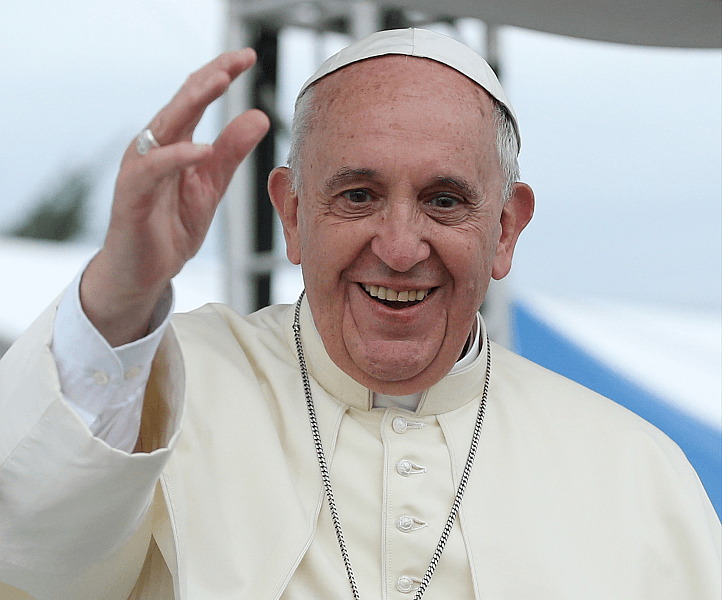 Papa Francisc FOTO: Korea.net/Korean Culture and Information Service (Jeon Han)/ Wikimedia Commons