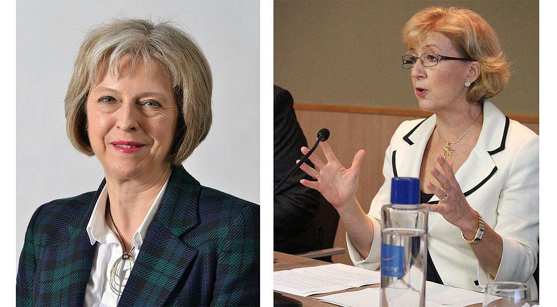 Theresa May și Andrea Ledsom FOTO: Wikimedia Commons