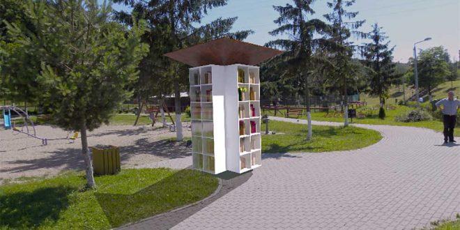 bibliotecă parc deva