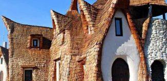 Castelul de lut Valea Zânelor de la Porumbacu de Sus
