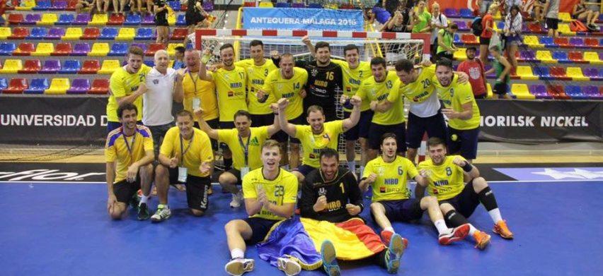 Tinerii handbaliști români au jucat extraordinar la Mondialele Universitare (fssu.ro)