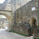 Cetatea de Scaun a Sucevei – hol de acces și cameră de gardă.