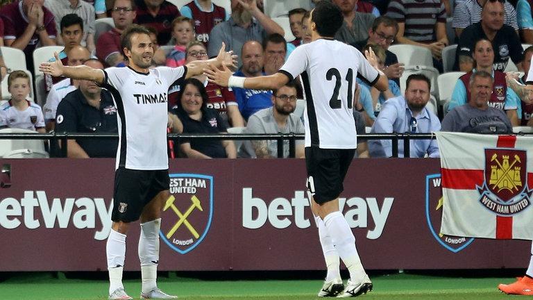 Astra Giurgiu a câștigat la Londra, 1-0 cu West Ham (Youtube)