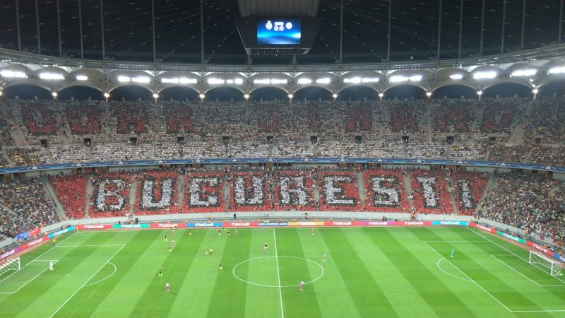 coregrafie doar dinamo bucuresti national arena 16 august 2016