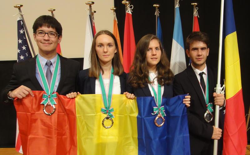 Cei patru olimpici ai României care au luat medalii la competiția din îndepărtata Japonie (Ministerul Educatiei)