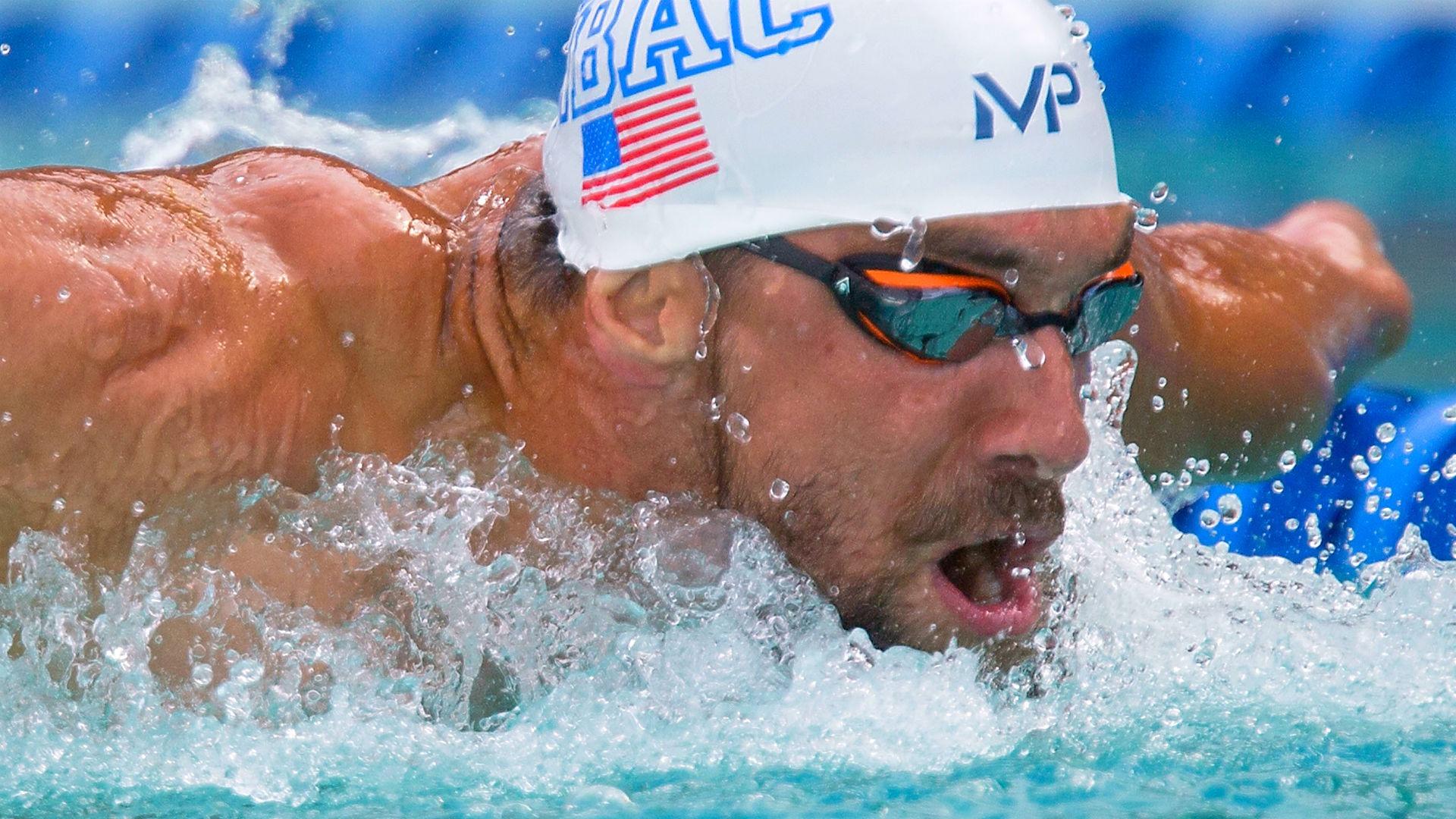 Michael Phelps a câștigat medalii de aur la cinci ediții ale Jocurilor Olimpice (Wikimedia Commons)