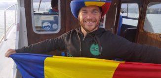 Avram Iancu a trecut Canalul Mânecii înot (Facebook)