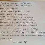 scrisoare pompier cutremur italia