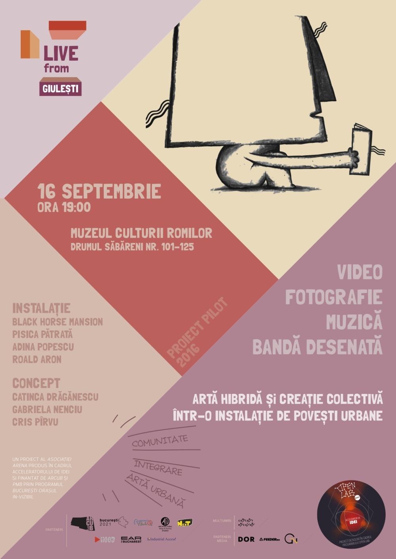 live from giulești muzeul romilor