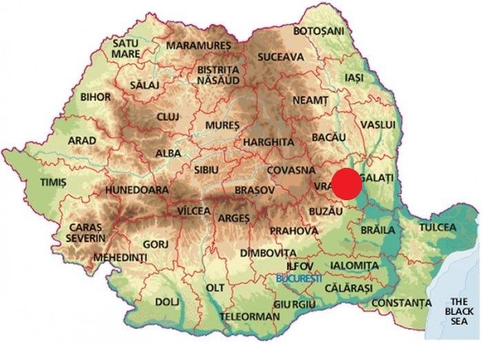 Cutremur zona Vrancea cutremur în românia