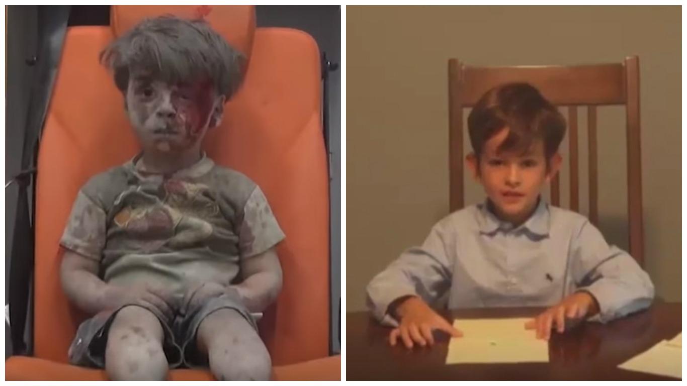 scrisoare obama băiat siria