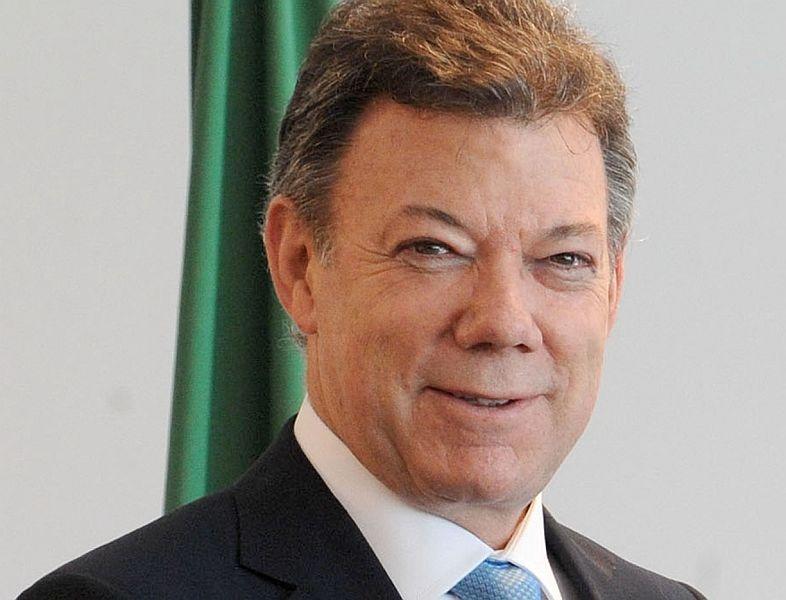 Președintele Columbiei, Juan Manuel Santos FOTO: Wilson Dias/ABr/Wikimedia Commons