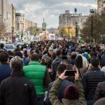 Marș tăcut pentru victimele incendiului de la clubul Colectiv (Foto: Călin Cătălin)