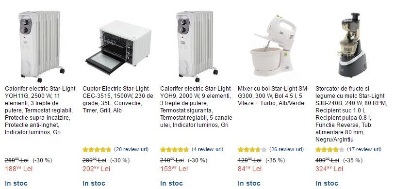 Oferta eMAG la electrocasnice mici este excelentă