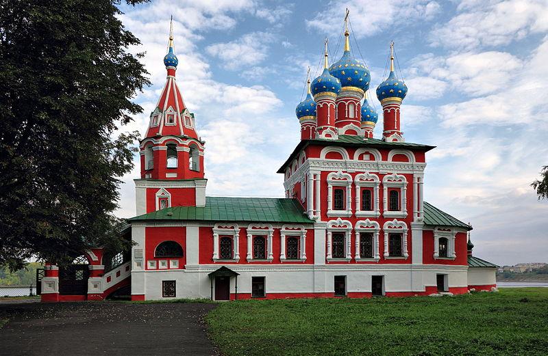 biserica sfântul dumitru uglich rusia