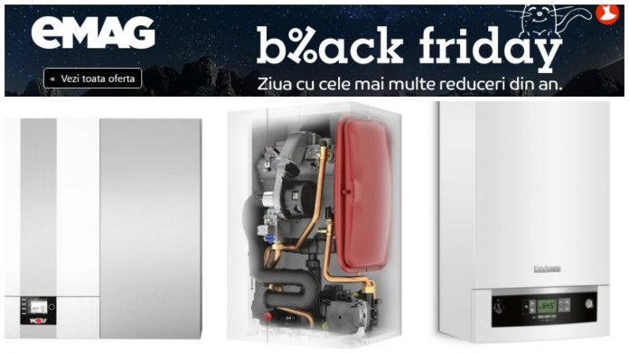 Black Friday 2016 Centrale termice eMAG