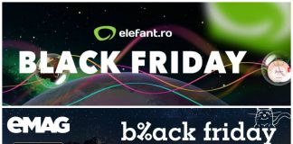 Black Friday 2016 eMAG versus elefant