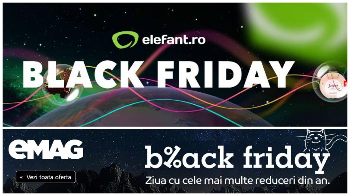 Black Friday 2016 eMAG versus elefant