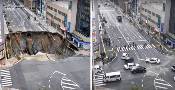 crater japonia reparat 48 de ore