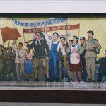 Metroul din Phenian (Foto: Elaine Li / Instagram)