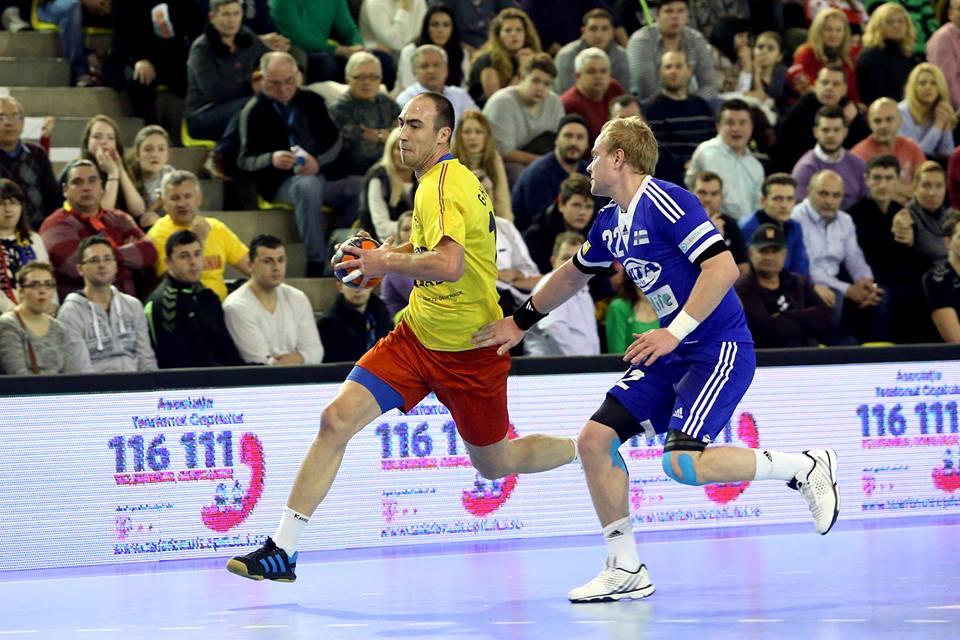 Valentin Ghionea a fost cel mai bun jucător al tricolorilor în Belarus (Facebook)