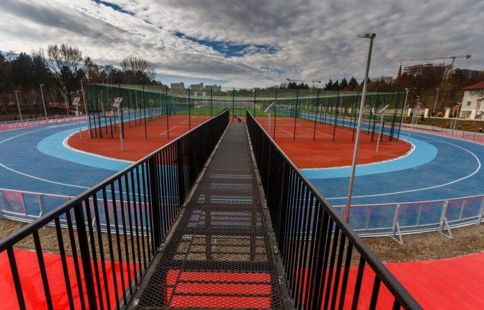 Așa arată noua bază sportivă din apropierea Clujului (digi24.ro)