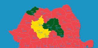 rezultate alegeri parlamentare hartă județe psd