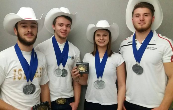 Tinerii sănieri români sunt extrem de talentați. Au cucerit deja două medalii de argint la Cupa Mondială (Federația Română de Bob și Sanie)