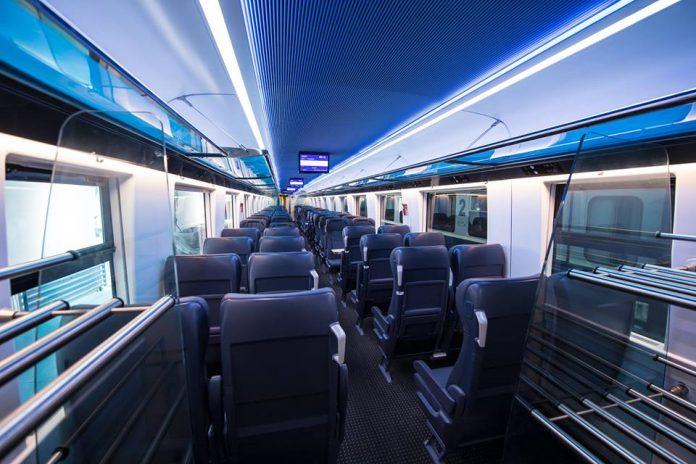 Așa arată un vagon din trenul Transcarpatic (Foto: Mix Studio)