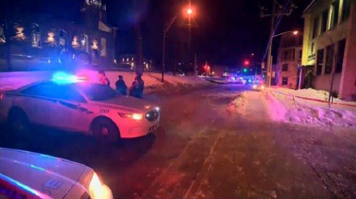 Moscheea din Quebec a fost ținta unui atac terorist (Youtube)