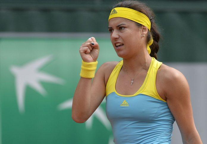 Sorana Cîrstea trebuie să o bată pe letona Jelena Ostapenko pentru a juca prima semifinală din acest sezon în circuitul WTA (Facebook)