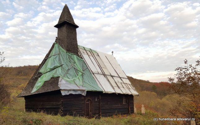 Satul Alun mai are doar câțiva locuitori (Foto: Adevărul)
