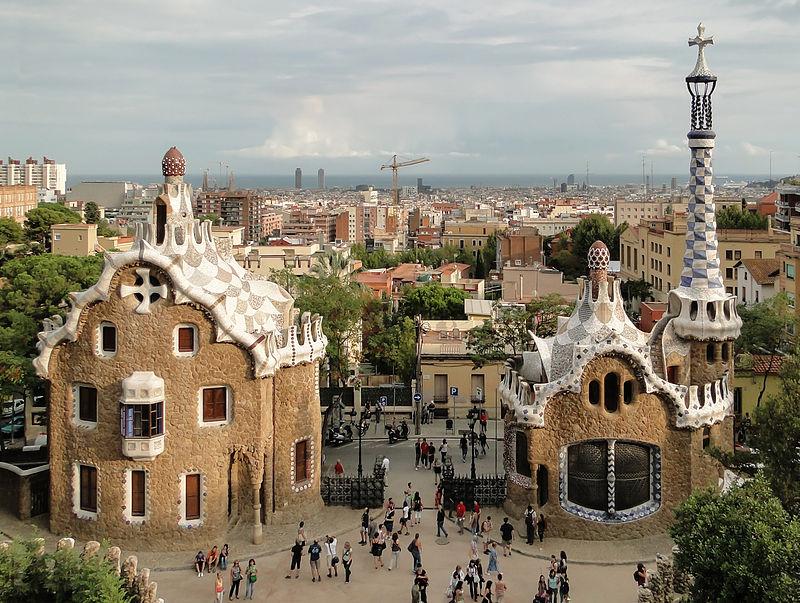 barcelona orașe colorate